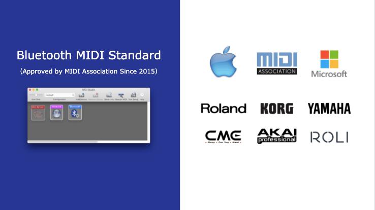 Bluetooth MIDI standard