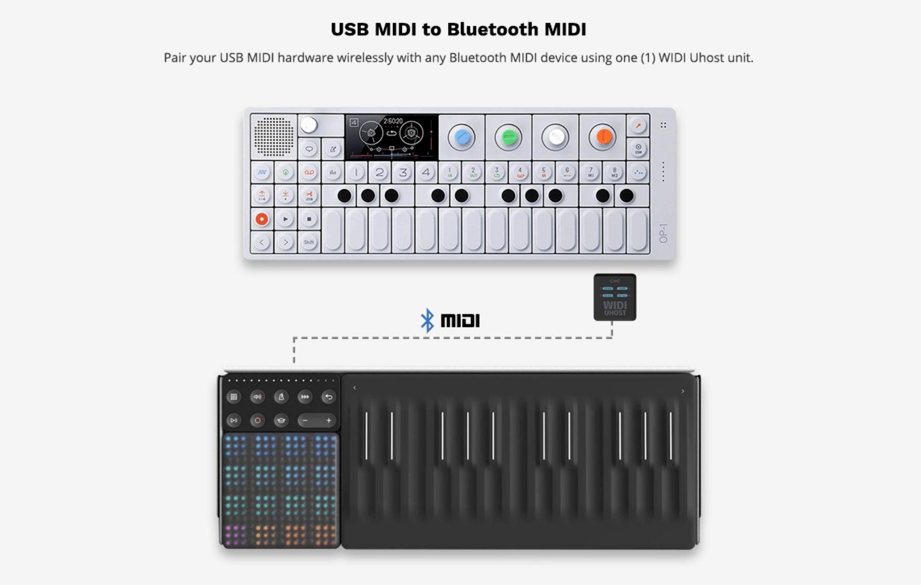USB MIDI uHost WIDI