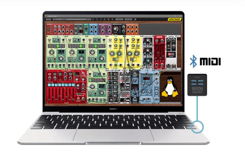 USB MIDI over Bluetooth