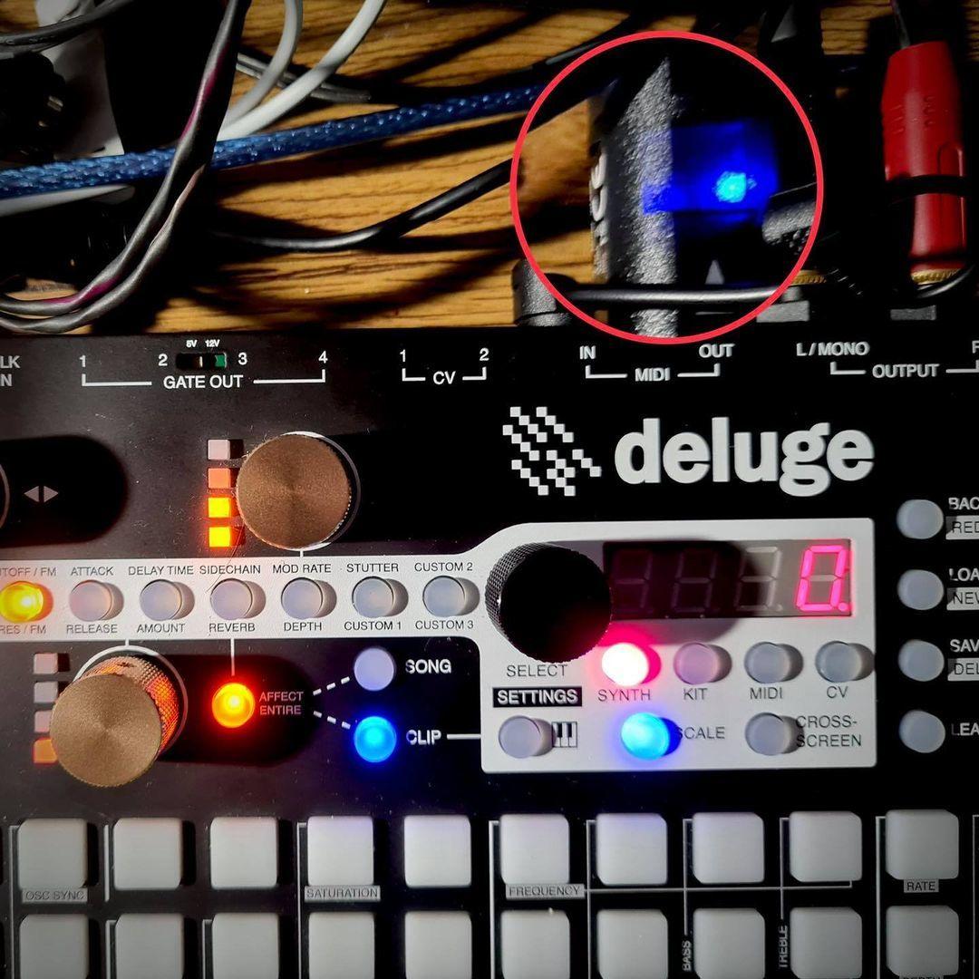 Crowd Creativity with Wireless MIDI